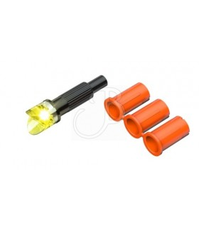 CLEAN-SHOT XBOW LIGHTED NOCK 3PCS