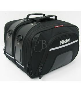 NICHE BLACK NIGHT S.SADDLE BAG 2208L