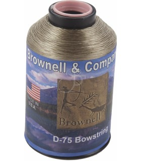 BROWNELL BOWSTRING D-75 1/4LB BRONZE