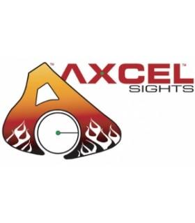 """AXCEL ACHIEVE CXL CARB 9"""" RD/BK RH"""