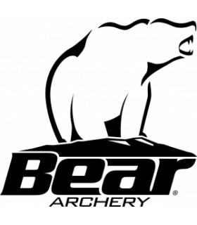 "BEAR O.PIECE SUPER KODIAK 64"" BK       45Lbs. LH"