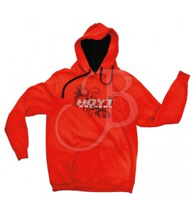 HOYT 14 SWEAT.LADIES BLING HOODY LG