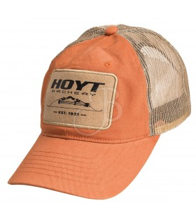 HOYT 18 BERRETTO LEATHER TRAD PATCH