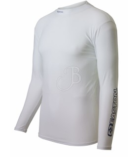 EASTON COMPRESION SHIRT L/S WH     SM