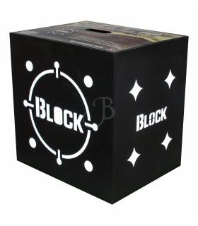 "BLOCK BATTIFRECCIA BLACK B18      18""x18""x16"""