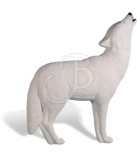 RINEHART 3D WHITE WOLF HOWLING