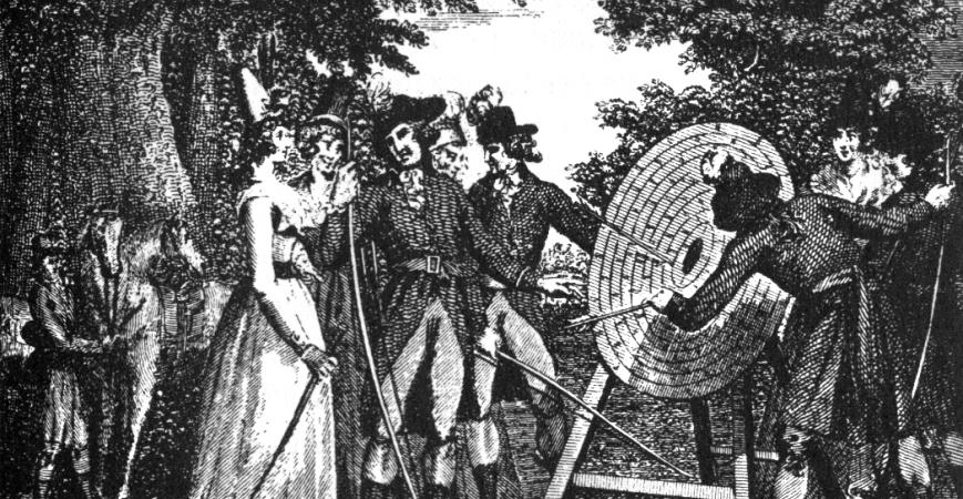 La storia del tiro con l'arco