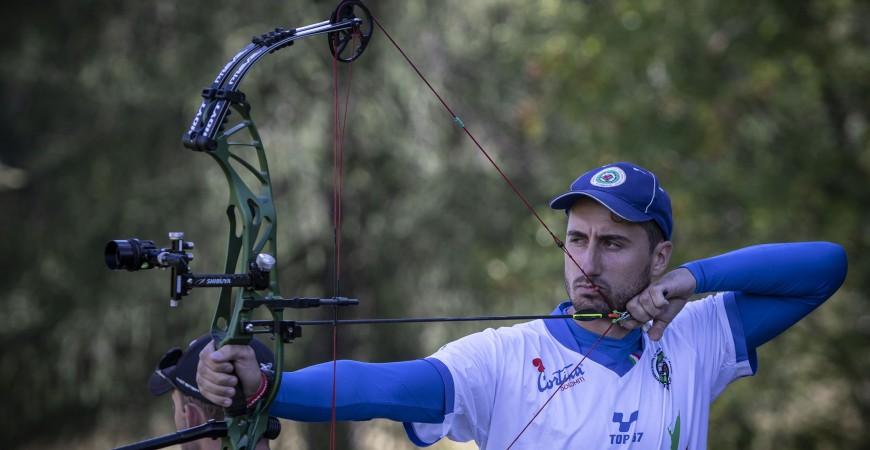 Mondiali tiro con l'arco campagna a Cortina