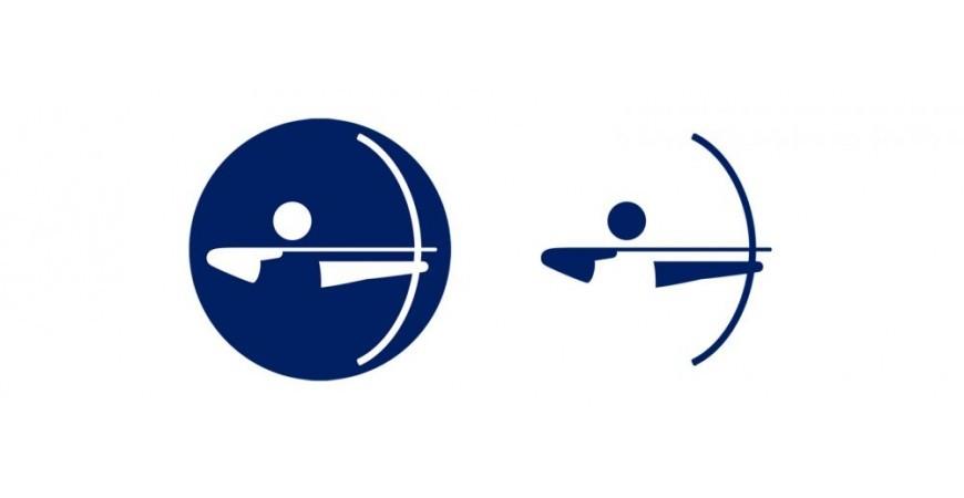 Ecco l'icona per il tiro con l'arco a Tokyo 2020