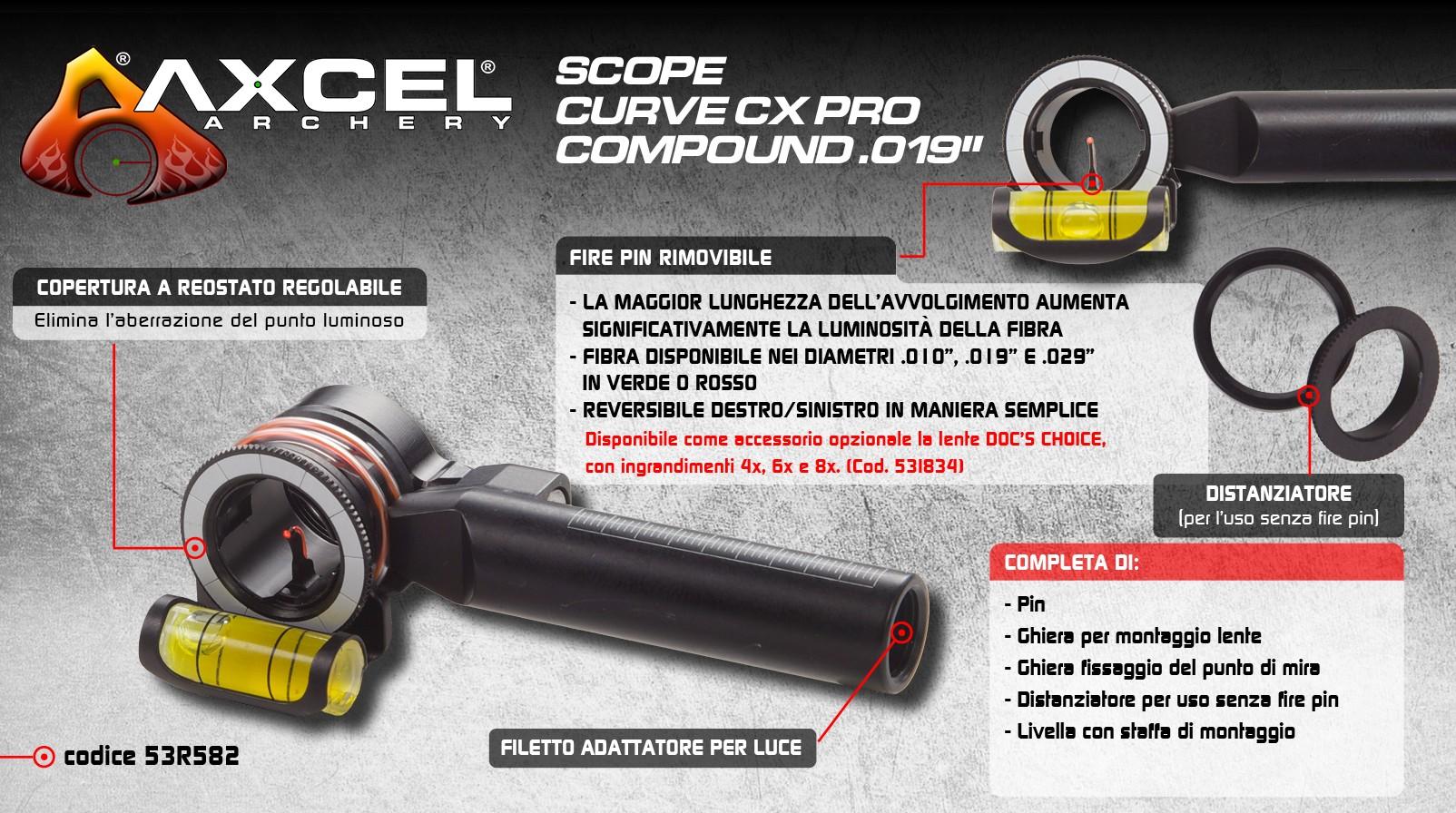 AXCEL DIOTTRA CURVE CX PRO COMPOUND